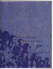 1974 Edition, Union High School - Memories Yearbook (Modoc, IN)