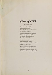 Page 9, 1944 Edition, Princeton High School - Retrospect Yearbook (Princeton, IN) online yearbook collection