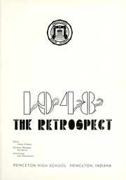 Page 7, 1948 Edition, Princeton High School - Retrospect Yearbook (Princeton, IN) online yearbook collection