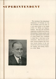 Page 10, 1939 Edition, Portland High School - Tifoon Yearbook (Portland, IN) online yearbook collection