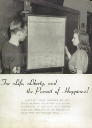 Page 5, 1942 Edition, Portland High School - Tifoon Yearbook (Portland, IN) online yearbook collection