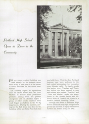 Page 9, 1942 Edition, Portland High School - Tifoon Yearbook (Portland, IN) online yearbook collection