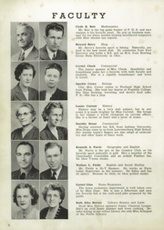 Page 12, 1947 Edition, Portland High School - Tifoon Yearbook (Portland, IN) online yearbook collection