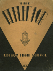 Page 1, 1947 Edition, Edison High School - Reflector Yearbook (Gary, IN) online yearbook collection