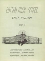 Page 5, 1947 Edition, Edison High School - Reflector Yearbook (Gary, IN) online yearbook collection