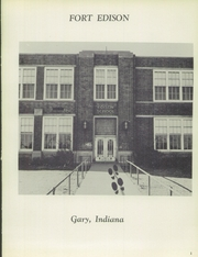 Page 5, 1956 Edition, Edison High School - Reflector Yearbook (Gary, IN) online yearbook collection