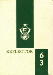 1963 Edition, Edison High School - Reflector Yearbook (Gary, IN)
