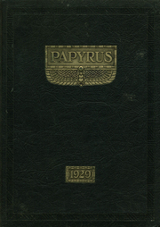 Page 1, 1929 Edition, Pendleton High School - Papyrus Yearbook (Pendleton, IN) online yearbook collection