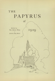 Page 7, 1929 Edition, Pendleton High School - Papyrus Yearbook (Pendleton, IN) online yearbook collection