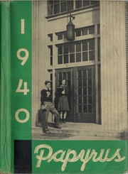 Page 1, 1940 Edition, Pendleton High School - Papyrus Yearbook (Pendleton, IN) online yearbook collection