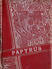 1944 Edition, Pendleton High School - Papyrus Yearbook (Pendleton, IN)