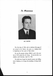 Page 9, 1944 Edition, Pendleton High School - Papyrus Yearbook (Pendleton, IN) online yearbook collection