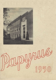 1950 Edition, Pendleton High School - Papyrus Yearbook (Pendleton, IN)