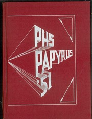 1951 Edition, Pendleton High School - Papyrus Yearbook (Pendleton, IN)