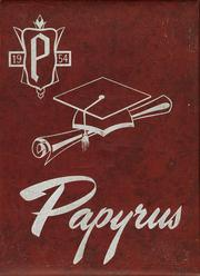 1954 Edition, Pendleton High School - Papyrus Yearbook (Pendleton, IN)