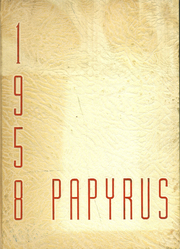 1958 Edition, Pendleton High School - Papyrus Yearbook (Pendleton, IN)