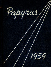 1959 Edition, Pendleton High School - Papyrus Yearbook (Pendleton, IN)