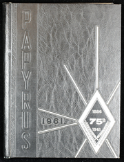 1961 Edition, Pendleton High School - Papyrus Yearbook (Pendleton, IN)