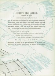 Page 9, 1956 Edition, Schulte High School - Spire Yearbook (Terre Haute, IN) online yearbook collection