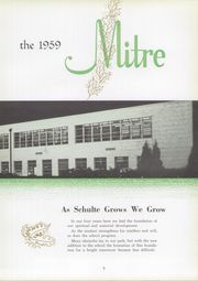 Page 9, 1959 Edition, Schulte High School - Spire Yearbook (Terre Haute, IN) online yearbook collection