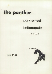Page 5, 1959 Edition, Park Tudor School - Chronicle Yearbook (Indianapolis, IN) online yearbook collection