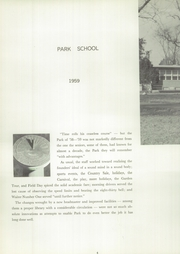 Page 8, 1959 Edition, Park Tudor School - Chronicle Yearbook (Indianapolis, IN) online yearbook collection