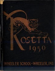 Page 1, 1950 Edition, Wheeler High School - Rosetta Yearbook (Valparaiso, IN) online yearbook collection