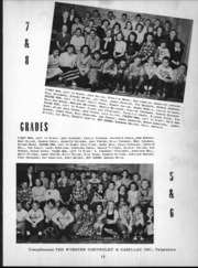 Page 16, 1950 Edition, Wheeler High School - Rosetta Yearbook (Valparaiso, IN) online yearbook collection