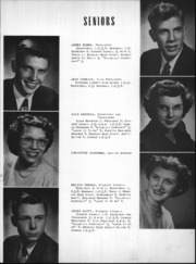 Page 8, 1950 Edition, Wheeler High School - Rosetta Yearbook (Valparaiso, IN) online yearbook collection