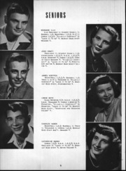Page 9, 1950 Edition, Wheeler High School - Rosetta Yearbook (Valparaiso, IN) online yearbook collection
