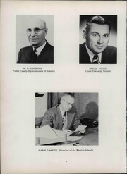 Page 10, 1951 Edition, Wheeler High School - Rosetta Yearbook (Valparaiso, IN) online yearbook collection