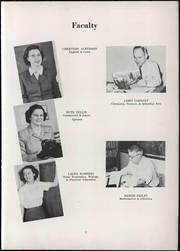 Page 11, 1951 Edition, Wheeler High School - Rosetta Yearbook (Valparaiso, IN) online yearbook collection