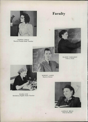 Page 12, 1951 Edition, Wheeler High School - Rosetta Yearbook (Valparaiso, IN) online yearbook collection