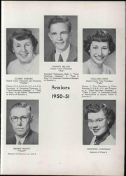 Page 13, 1951 Edition, Wheeler High School - Rosetta Yearbook (Valparaiso, IN) online yearbook collection