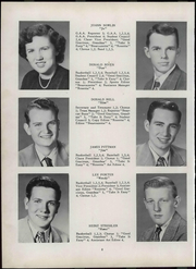 Page 14, 1951 Edition, Wheeler High School - Rosetta Yearbook (Valparaiso, IN) online yearbook collection