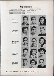 Page 17, 1951 Edition, Wheeler High School - Rosetta Yearbook (Valparaiso, IN) online yearbook collection