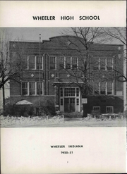 Page 8, 1951 Edition, Wheeler High School - Rosetta Yearbook (Valparaiso, IN) online yearbook collection