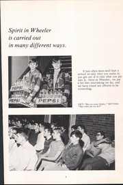 Page 7, 1970 Edition, Wheeler High School - Rosetta Yearbook (Valparaiso, IN) online yearbook collection