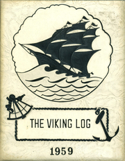 1959 Edition, Barr Reeve High School - Viking Log (Montgomery, IN)