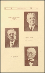Page 11, 1928 Edition, Morton Memorial Schools - Retrospect Yearbook (Knightstown, IN) online yearbook collection