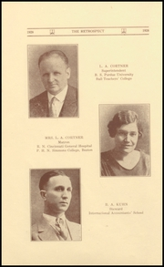 Page 12, 1928 Edition, Morton Memorial Schools - Retrospect Yearbook (Knightstown, IN) online yearbook collection