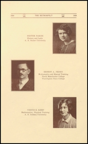Page 15, 1928 Edition, Morton Memorial Schools - Retrospect Yearbook (Knightstown, IN) online yearbook collection