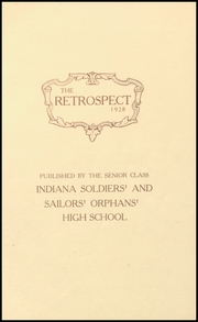 Page 5, 1928 Edition, Morton Memorial Schools - Retrospect Yearbook (Knightstown, IN) online yearbook collection