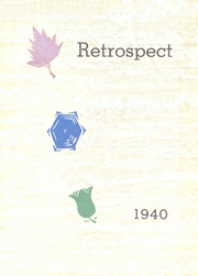 Page 1, 1940 Edition, Morton Memorial Schools - Retrospect Yearbook (Knightstown, IN) online yearbook collection