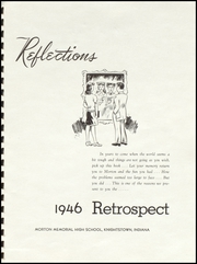 Page 5, 1946 Edition, Morton Memorial Schools - Retrospect Yearbook (Knightstown, IN) online yearbook collection