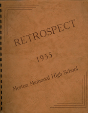 Morton Memorial Schools - Retrospect Yearbook (Knightstown, IN) online yearbook collection, 1955 Edition, Page 1