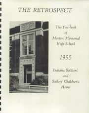 Page 5, 1955 Edition, Morton Memorial Schools - Retrospect Yearbook (Knightstown, IN) online yearbook collection