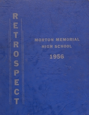 Morton Memorial Schools - Retrospect Yearbook (Knightstown, IN) online yearbook collection, 1956 Edition, Page 1
