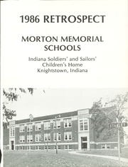 Page 5, 1986 Edition, Morton Memorial Schools - Retrospect Yearbook (Knightstown, IN) online yearbook collection
