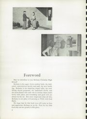 Page 4, 1955 Edition, Bethany Christian High School - Witmarsum Yearbook (Goshen, IN) online yearbook collection